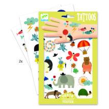 Tetováló matricák - Cuki dolgok - Pretty little things- DJECO
