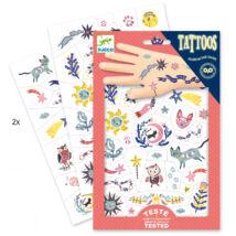Tetováló matricák - Édes álom - Sweet dreams- DJECO