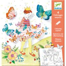 Meglepetés színezők - Pillangó kisasszony - Lady butterfly- DJECO
