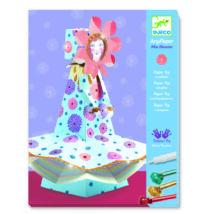 Papírszobor műhely - Virágzó kisasszony - Miss Blossom- DJECO