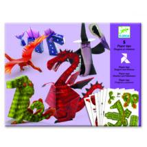 Síkból térbe formálás - Sárkányok és mesebeli lények - Dragons and chimeras- DJECO