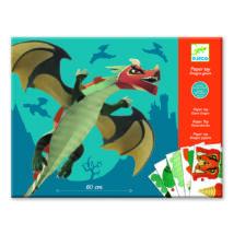 Síkból térbe formálás - Óriás sárkány - Giant dragon- DJECO