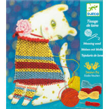 Varrás és hímzés - Gyapjúszövő - Woolly jumper- DJECO