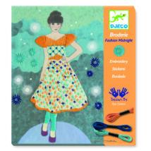 Varrás és hímzés - Nagyestélyi - Fashion midnight- DJECO