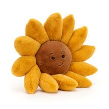 Jellycat Fleury Sunflower - Plüss virág - Napraforgó