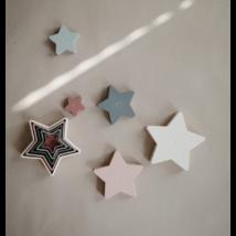 Toronyépítő csillagok - pasztell - Mushie