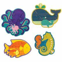 Petit Collage kezdő puzzle – óceánok állatai