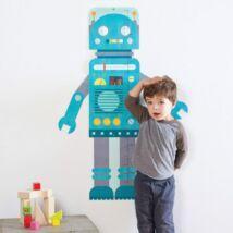 Petit Collage 100% organikus magasságmérő, robot