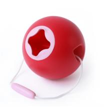 Quut strandolós vödör - Ballo -  Cseresznye piros + édes rózsaszín