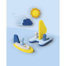 Quut építsd magad fürdős puzzle készlet - Vitorlázos - Sail away 13 db-os