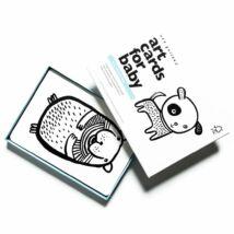 Wee Gallery fejlesztő kártyák babáknak - Pets - Kiskedvencek