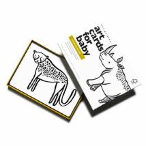 Wee Gallery fejlesztő kártyák babáknak - Safari