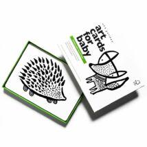 Wee Gallery fejlesztő kártyák babáknak - Woodlands - Erdős vidék