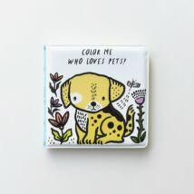 Wee Gallery színváltós fürdős könyv - Kis kedvencek - Pets