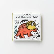 Wee Gallery színváltós fürdős könyv - Ki szereti a dinókat?