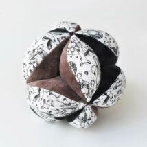 Wee Gallery organikus érzékfejlesztő labda babáknak - Woodland - Erdős vidék