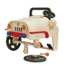 Vezethető szerelhető autó - Plan Toys