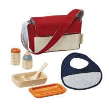 Babakocsi táska + étkészlet Plan Toys