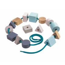 Nagy fűzős gyöngyök Plan Toys