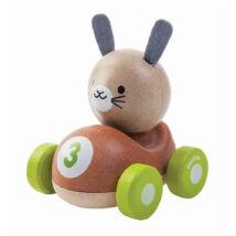 Nyuszis versenyző Plan Toys