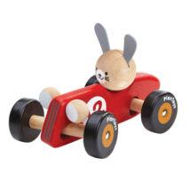 Versenyautó - Nyuszi Plan Toys