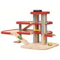 3 emeletes liftes parkolóház Plan Toys
