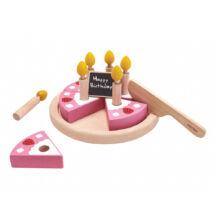 Születésnapi torta szett Plan Toys