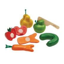 Wonky gyümölcs és zöldség szett Plan Toys
