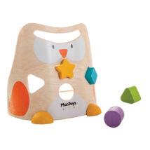 Bagoly formaválogató Plan Toys