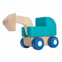 Mini kotrógép Plan Toys