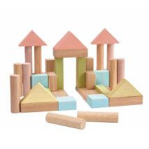 40 építőkocka - pasztell Plan Toys