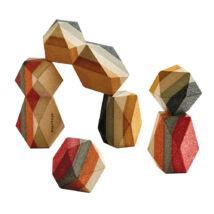 Plan Toys Geo építő kövek