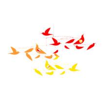 Szélmobil függődísz - Madarak - Birds Djeco