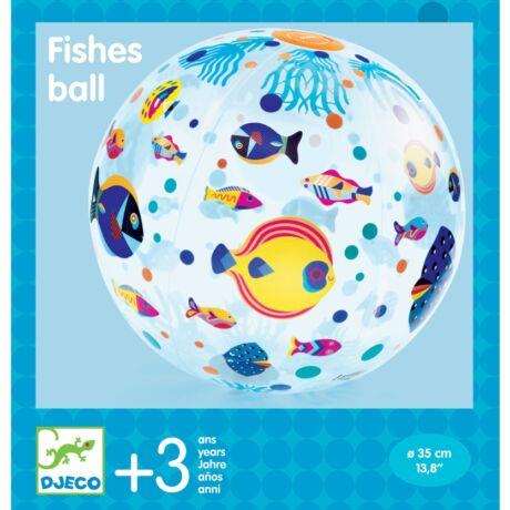 Felfújható labda - Halacskák - Fishes ball