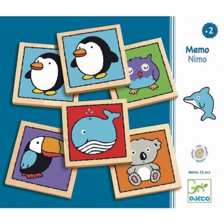 Memória játék - Maci-mackó - Mémo-nimo- DJECO