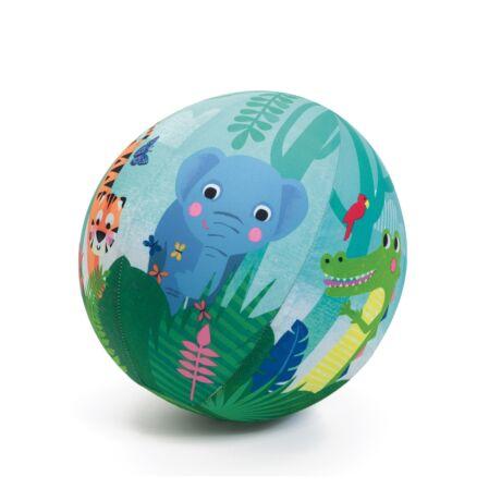 Textilhuzat lufira - Jungle ball - 23 cm ø Djeco