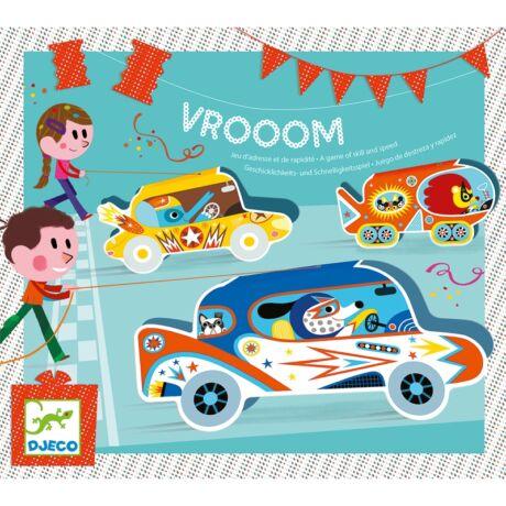 Társasjáték - Autóverseny - Vrooom- DJECO