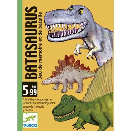 Kártyajáték -  Dinók csatája - Batasaurus - DJECO