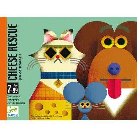 Kártyajáték - Sajtmentő - Cheese rescue Djeco