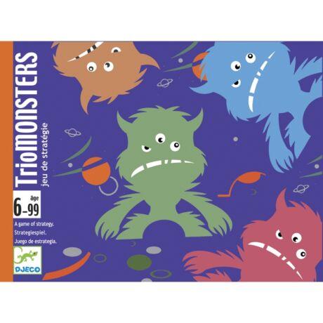 Kártyajáték  - Szörnytrió - TrioMonster- DJECO