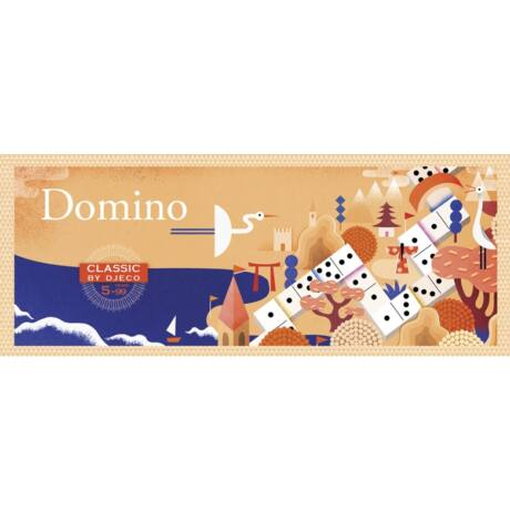 Társasjáték klasszikus - Domino- DJECO