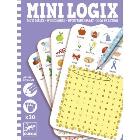 Mini logika -  Szó kereső - Wordsearch- DJECO