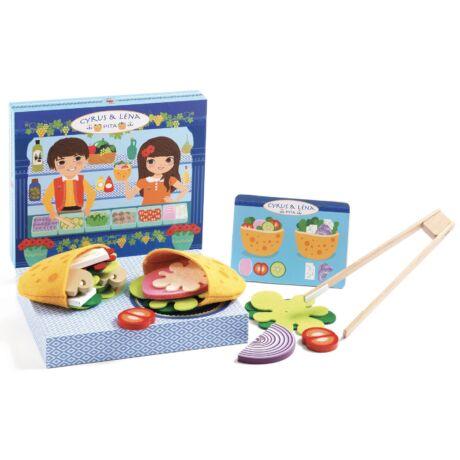 Pita készítő - Cyrus & Lena - Make pitas with a menu - Djeco