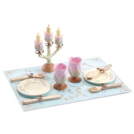 Hercegnők étkészlete - Dishes of princesses- DJECO