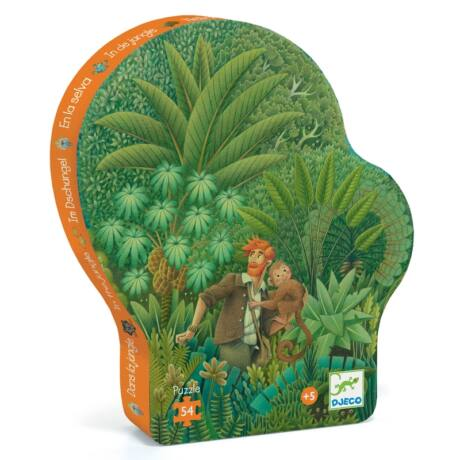Formadobozos puzzle - In the Jungle Djeco