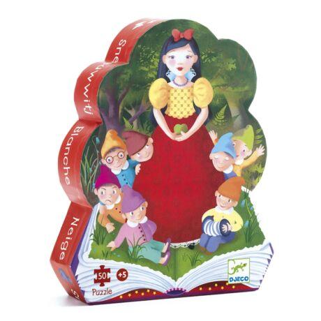 Formadobozos puzzle - Hófehérke - Snow White- DJECO