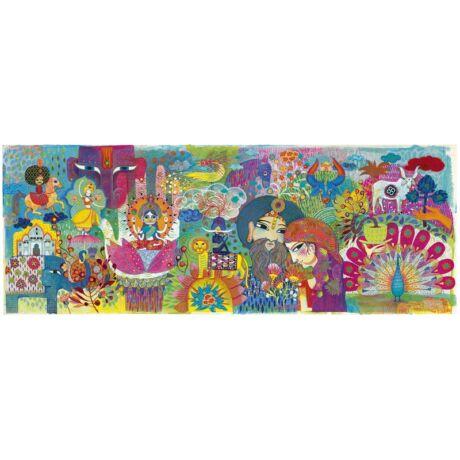Művész puzzle - Varázslatos India, 1000 db-os - Magic India- DJECO