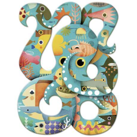 Művész puzzle - Octopus, 350 db-os- DJECO