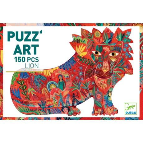 Puzzle - Oroszlán - Lion - DJECO