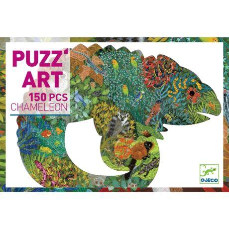 Művész puzzle - Kaméleon - Chameleon Djeco